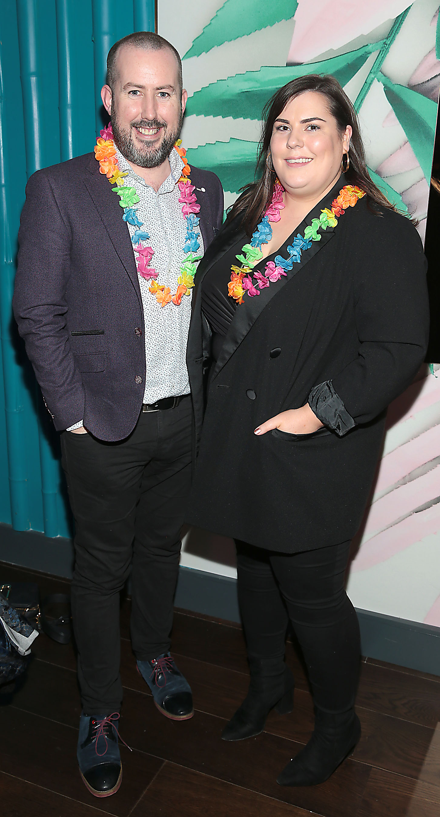 Kieran O Malley and Enda Donnelly pictured at the opening of Ohana in Harcourt Street, Dublin. Pic: Brian McEvoy