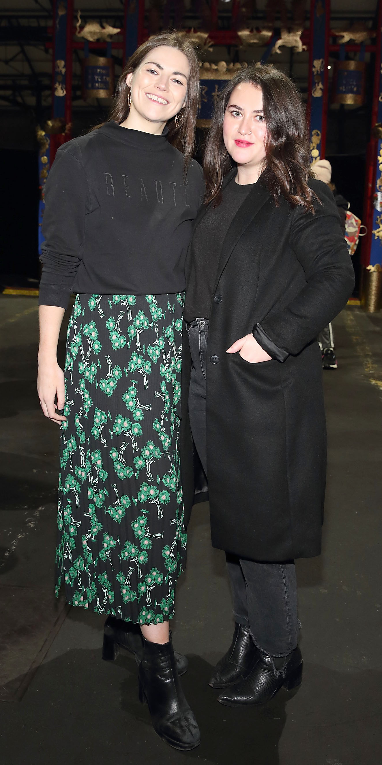 Paula Lyne and Ellen Quinn - Banville at the opening ceremony of Dublin Chinese New Year Festival 2020 which runs from 24th January - 10th February and celebrates the Year of the Rat.  Pic: Brian McEvoy Photography