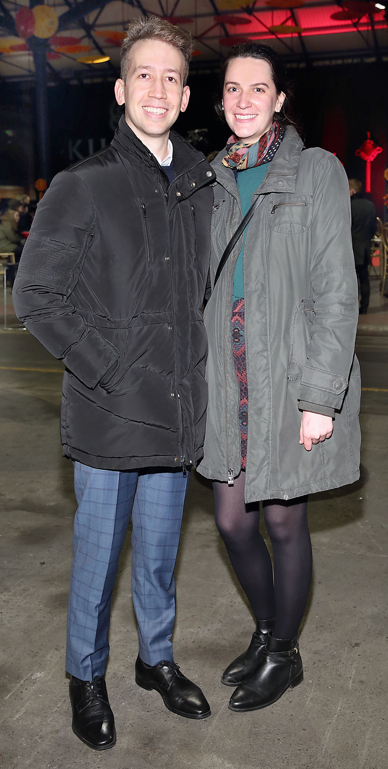 Carlos Granados and Isabel Cabezas at the opening ceremony of Dublin Chinese New Year Festival 2020 which runs from 24th January - 10th February and celebrates the Year of the Rat.  Pic: Brian McEvoy Photography
