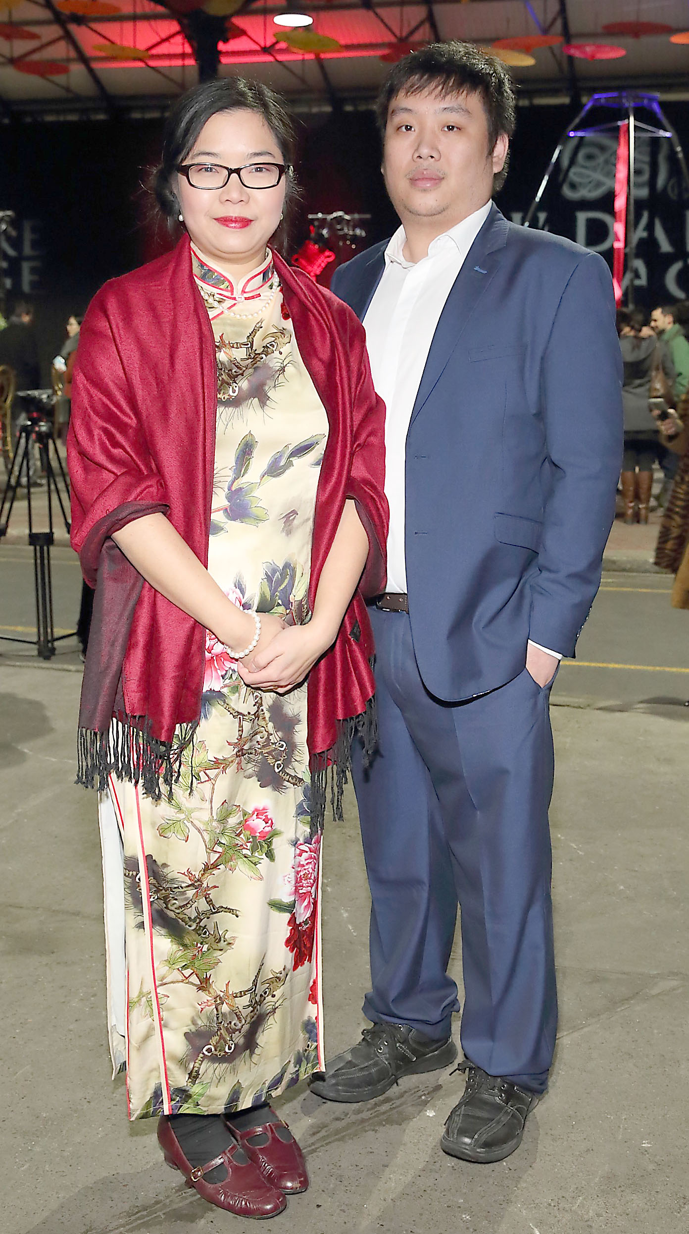 Alice Chan and Alfred Ma at the opening ceremony of Dublin Chinese New Year Festival 2020 which runs from 24th January - 10th February and celebrates the Year of the Rat.  Pic: Brian McEvoy Photography