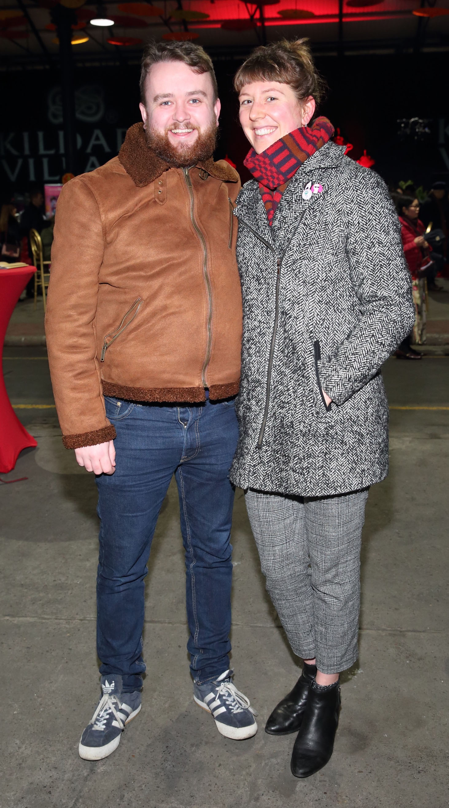 Niall Swan and Jess Worsdale at the opening ceremony of Dublin Chinese New Year Festival 2020 which runs from 24th January - 10th February and celebrates the Year of the Rat.  Pic: Brian McEvoy Photography