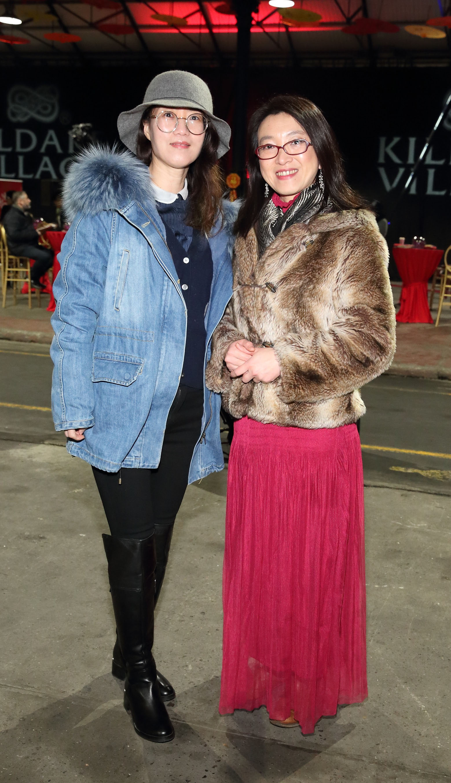 XiangYi Li and Yue Yu at the opening ceremony of Dublin Chinese New Year Festival 2020 which runs from 24th January - 10th February and celebrates the Year of the Rat.  Pic: Brian McEvoy Photography