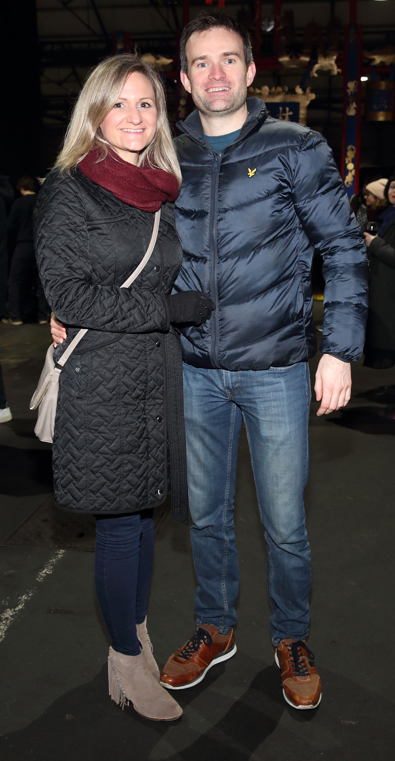 Kate Glagola and Kieran Hayes at the opening ceremony of Dublin Chinese New Year Festival 2020 which runs from 24th January - 10th February and celebrates the Year of the Rat.  Pic: Brian McEvoy Photography