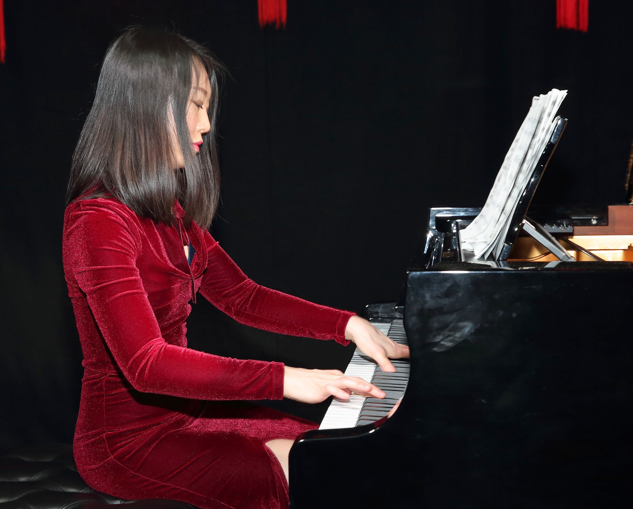Virtuoso Chinese pianist Jing Li performs at the opening ceremony of Dublin Chinese New Year Festival 2020 which runs from 24th January - 10th February and celebrates the Year of the Rat.  Pic: Brian McEvoy Photography