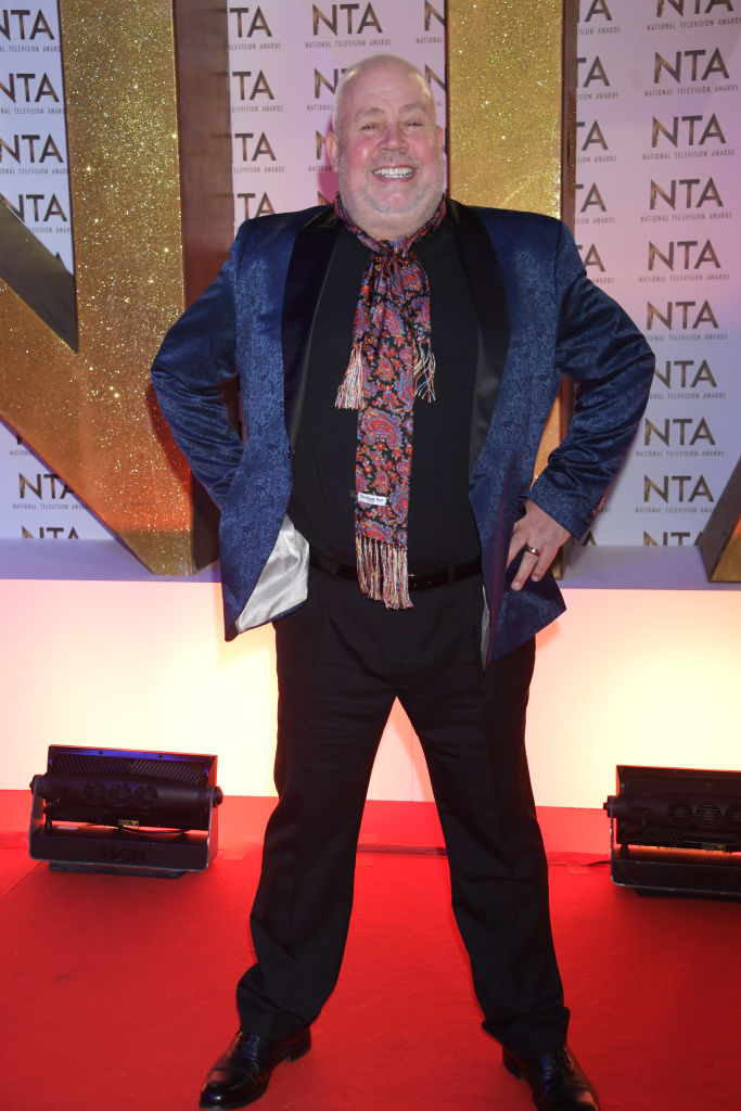 Cliff Parisi attends the National Television Awards 2020 at The O2 Arena on January 28, 2020 in London, England. (Photo by David M. Benett/Dave Benett/Getty Images)