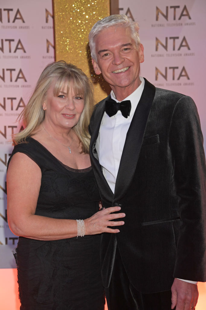 Stephanie Lowe and Phillip Schofield attend the National Television Awards 2020 at The O2 Arena on January 28, 2020 in London, England. (Photo by David M. Benett/Dave Benett/Getty Images)