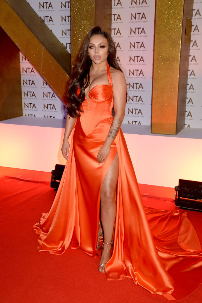 Jesy Nelson attends the National Television Awards 2020 at The O2 Arena on January 28, 2020 in London, England. (Photo by Dave J Hogan/Getty Images)