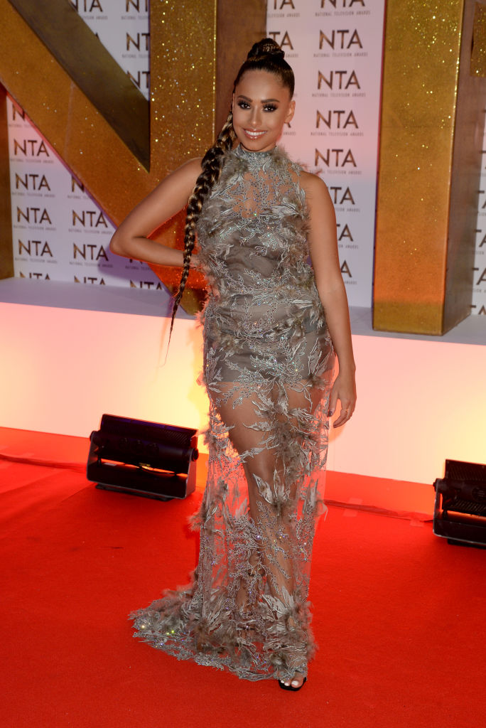 Amber Gill attends the National Television Awards 2020 at The O2 Arena on January 28, 2020 in London, England. (Photo by Dave J Hogan/Getty Images)