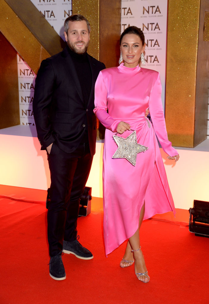 Paul Knightley and Sam Faiers attend the National Television Awards 2020 at The O2 Arena on January 28, 2020 in London, England. (Photo by Dave J Hogan/Getty Images)