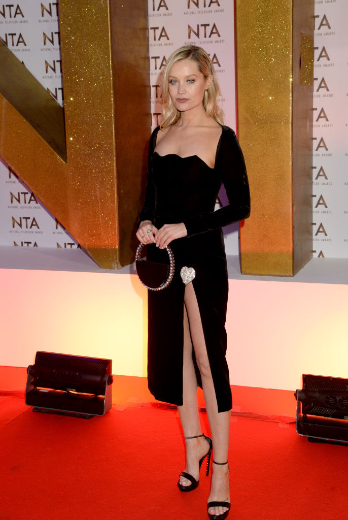 Laura Whitmore attends the National Television Awards 2020 at The O2 Arena on January 28, 2020 in London, England. (Photo by Dave J Hogan/Getty Images)