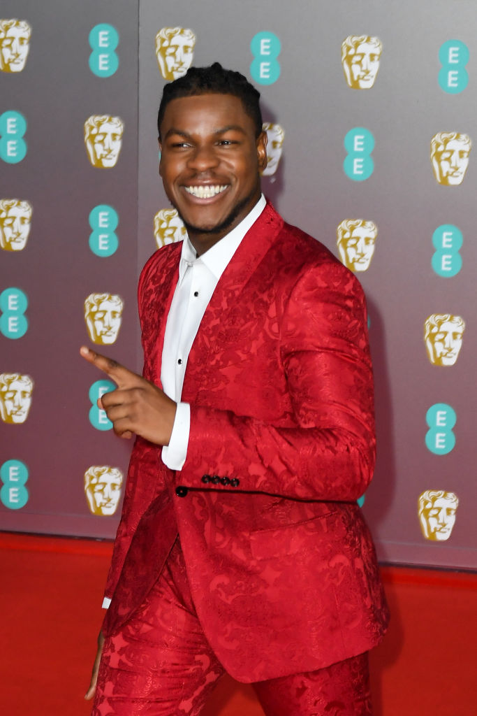 John Boyega attends the EE British Academy Film Awards 2020 at Royal Albert Hall on February 02, 2020 in London, England. (Photo by Stephane Cardinale - Corbis/Corbis via Getty Images)