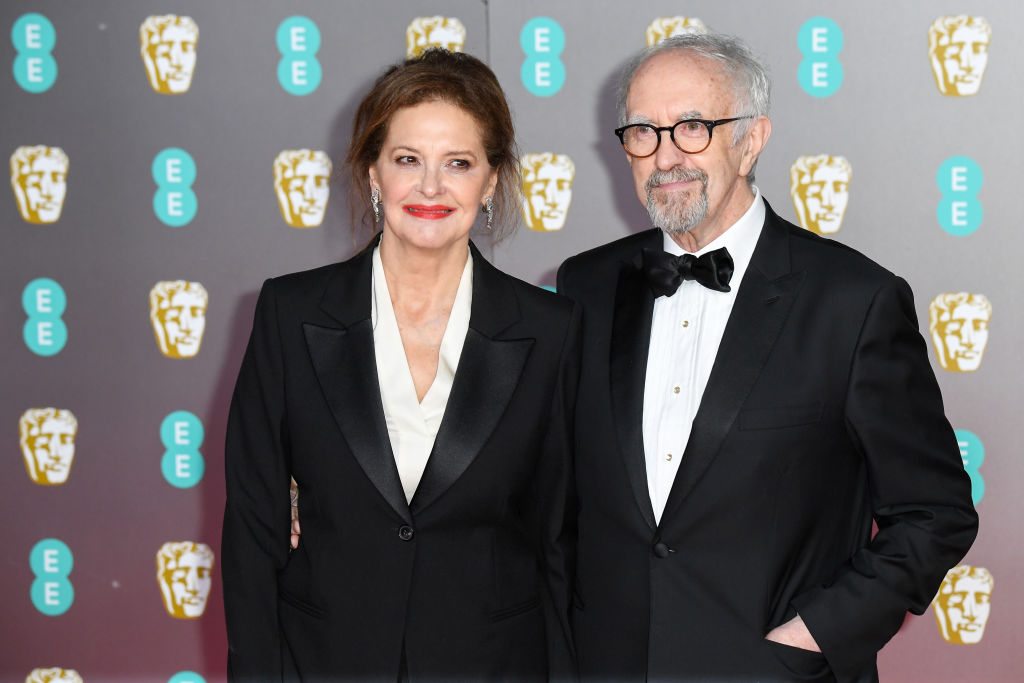 Kate Fahy and Jonathan Pryce attends the EE British Academy Film Awards 2020 at Royal Albert Hall on February 02, 2020 in London, England. (Photo by Stephane Cardinale - Corbis/Corbis via Getty Images)