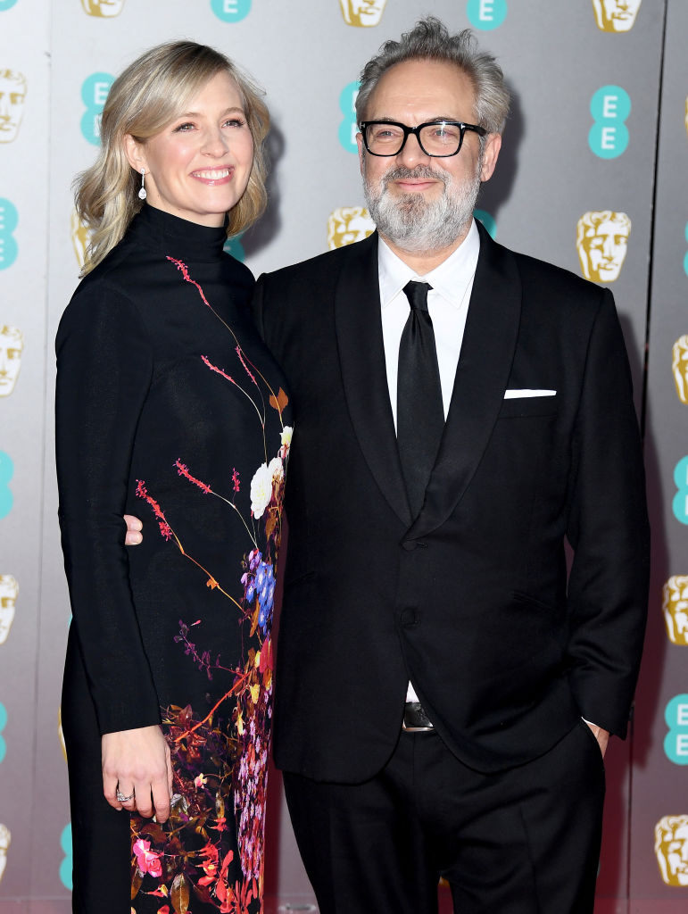 Alison Balsom (L) and Sam Mendes attend the EE British Academy Film Awards 2020 at Royal Albert Hall on February 02, 2020 in London, England. (Photo by Gareth Cattermole/Getty Images)