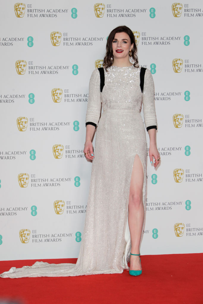 Aisling Bea poses in the Winners Room at the EE British Academy Film Awards 2020 at Royal Albert Hall on February 2, 2020 in London, England. (Photo by David M. Benett/Dave Benett/Getty Images)