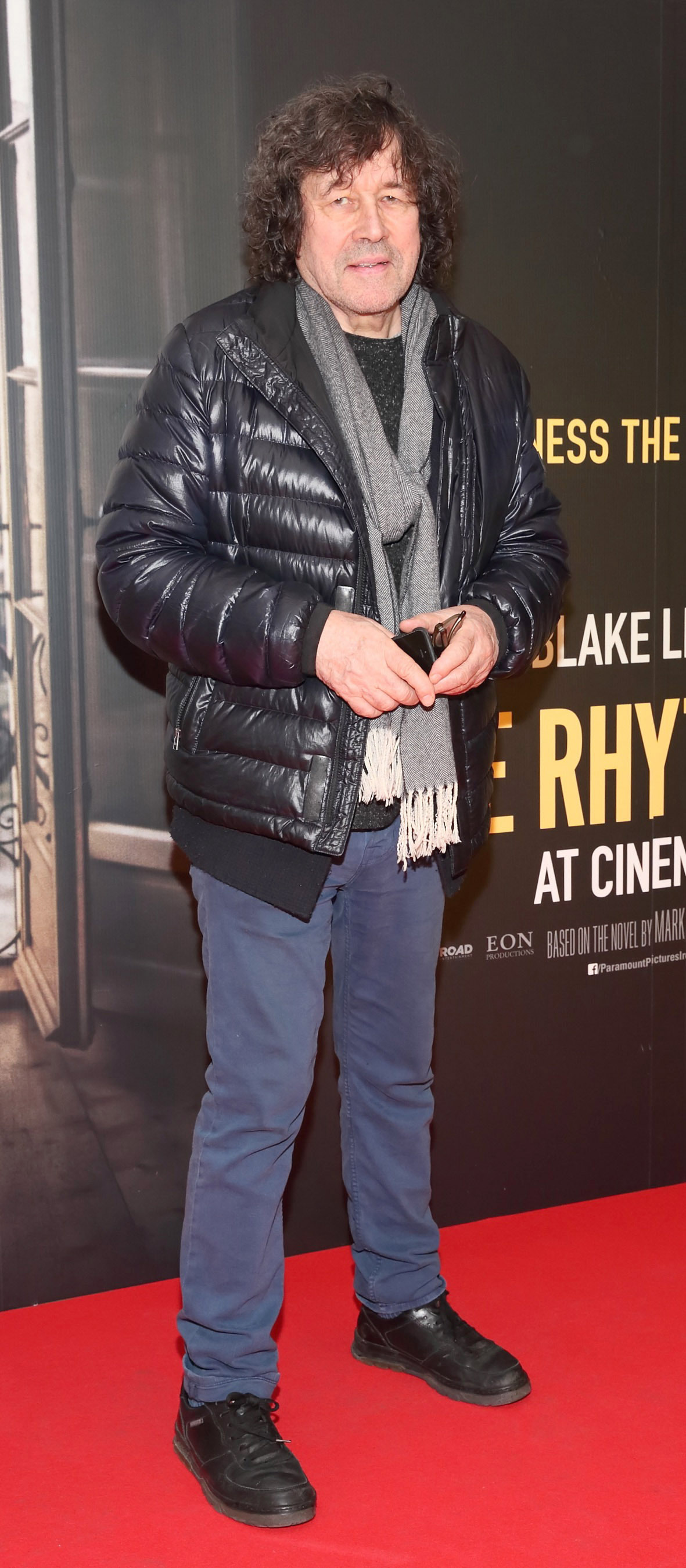 Stephen Rae pictured at the special preview screening of The Rhythm Section at the Light House Cinema, Dublin. Pic: Brian McEvoy Photography