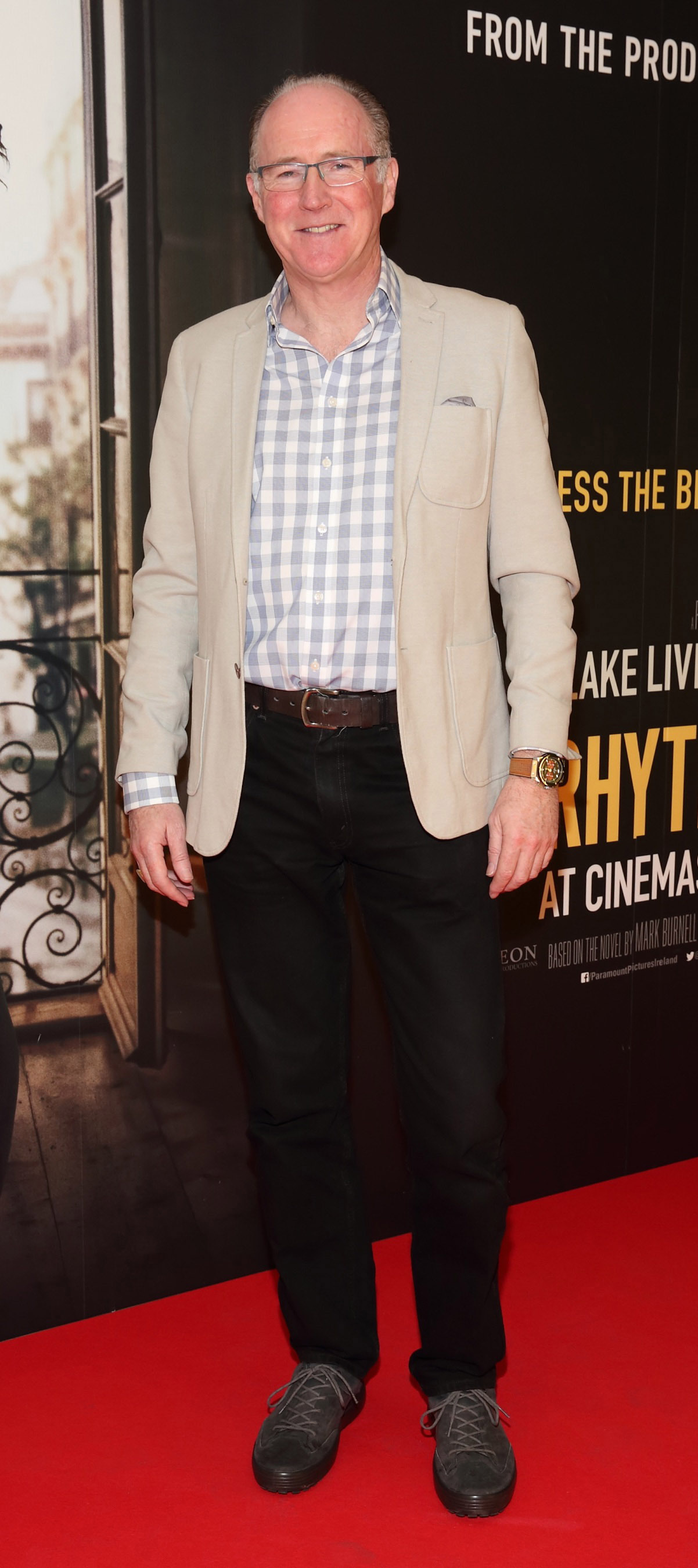 Bill O'Connell pictured at the special preview screening of The Rhythm Section at the Light House Cinema, Dublin. Pic: Brian McEvoy Photography