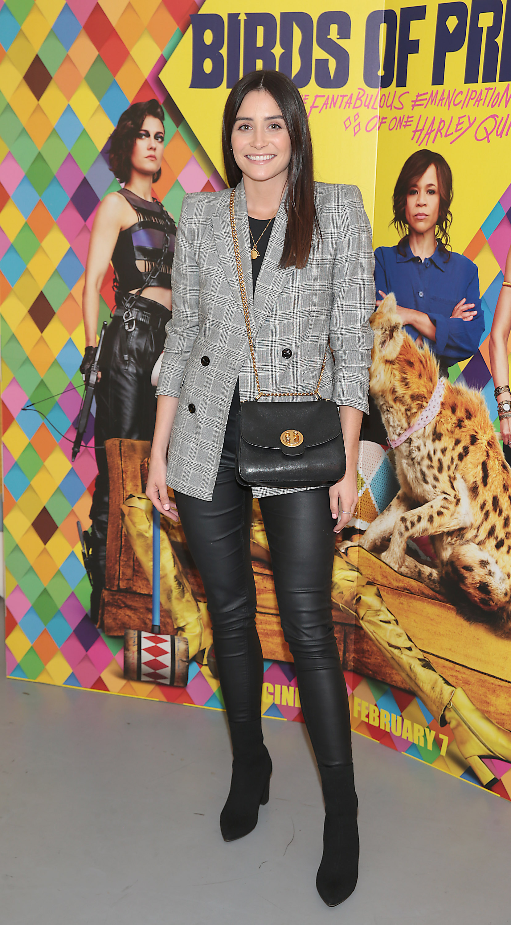 Marie Claire Whelan at the special preview screening of Birds of Prey at the Lighthouse Cinema, Dublin. Pic: Brian McEvoy
