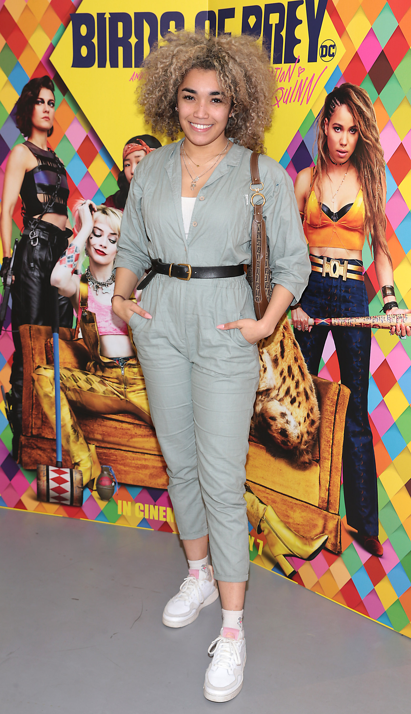 Erica Cody at the special preview screening of Birds of Prey at the Lighthouse Cinema, Dublin. Pic: Brian McEvoy