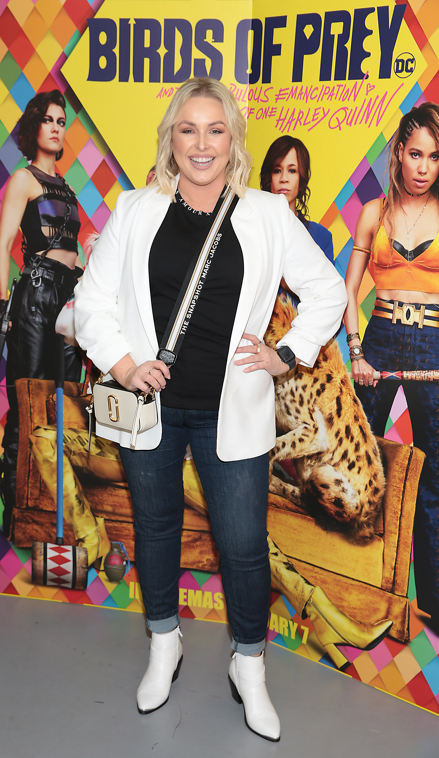 Sinead O Brien at the special preview screening of Birds of Prey at the Lighthouse Cinema, Dublin. Pic: Brian McEvoy