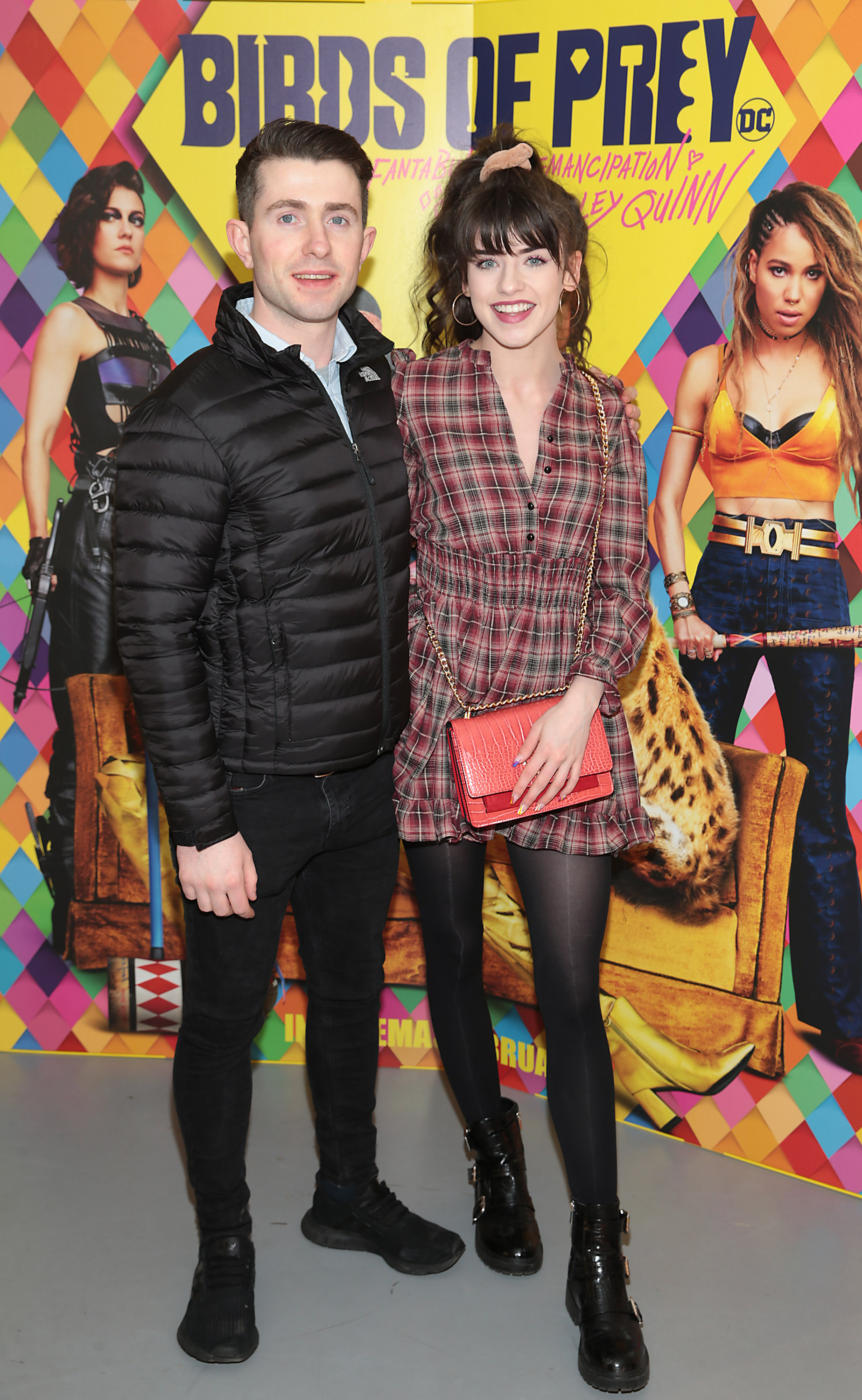 Nathan Flanagan and Jessica Brennan at the special preview screening of Birds of Prey at the Lighthouse Cinema, Dublin. Pic: Brian McEvoy