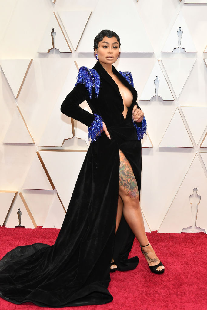 Blac Chyna attends the 92nd Annual Academy Awards at Hollywood and Highland on February 09, 2020 in Hollywood, California. (Photo by Amy Sussman/Getty Images)