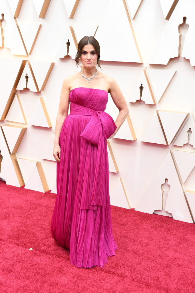 Idina Menzel attends the 92nd Annual Academy Awards at Hollywood and Highland on February 09, 2020 in Hollywood, California. (Photo by Steve Granitz/WireImage)