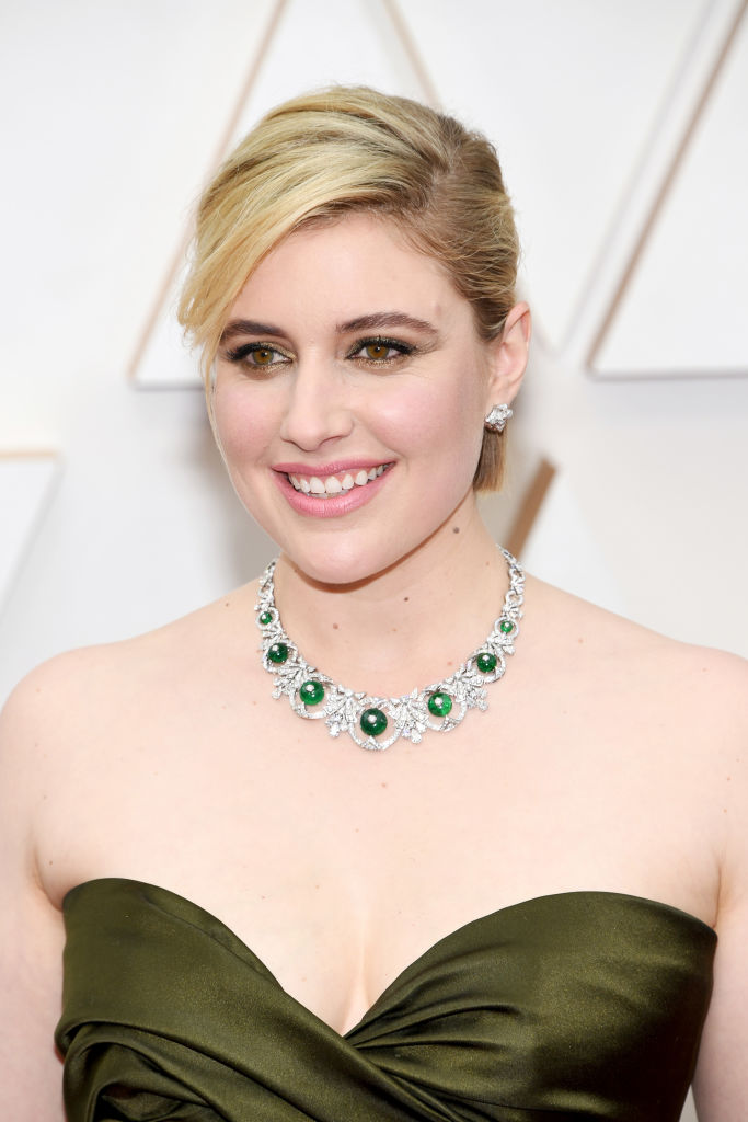 Greta Gerwig attends the 92nd Annual Academy Awards at Hollywood and Highland on February 09, 2020 in Hollywood, California. (Photo by Kevin Mazur/Getty Images)