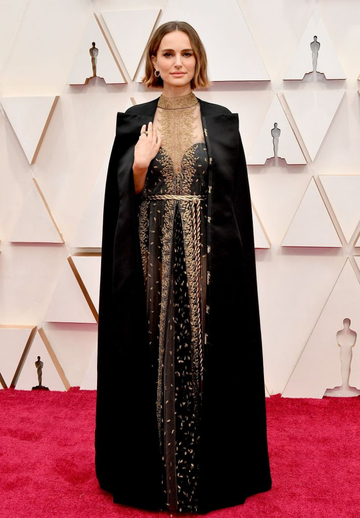 Natalie Portman` attends the 92nd Annual Academy Awards at Hollywood and Highland on February 09, 2020 in Hollywood, California. (Photo by Amy Sussman/Getty Images)