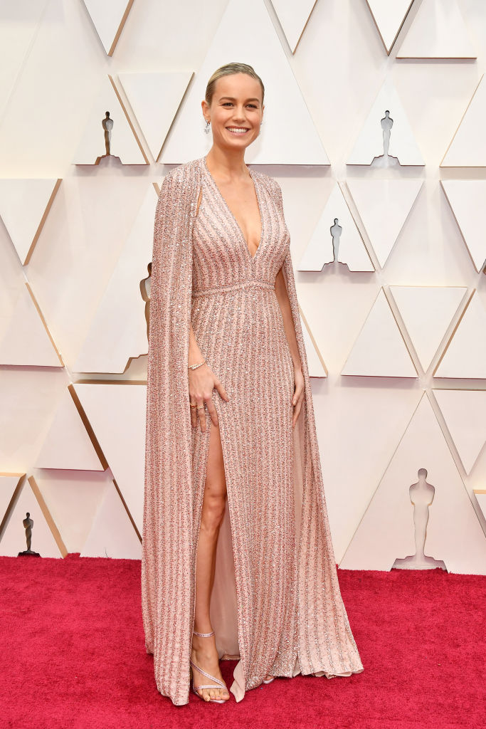 Brie Larson attends the 92nd Annual Academy Awards at Hollywood and Highland on February 09, 2020 in Hollywood, California. (Photo by Amy Sussman/Getty Images)