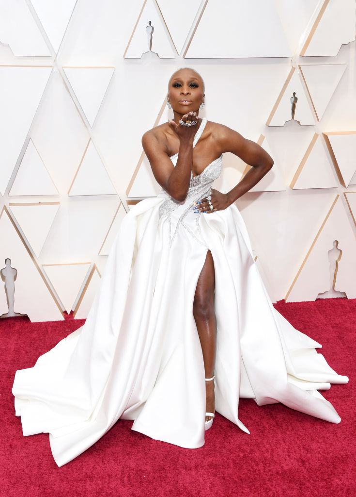 Cynthia Erivo attends the 92nd Annual Academy Awards at Hollywood and Highland on February 09, 2020 in Hollywood, California. (Photo by Kevin Mazur/Getty Images)