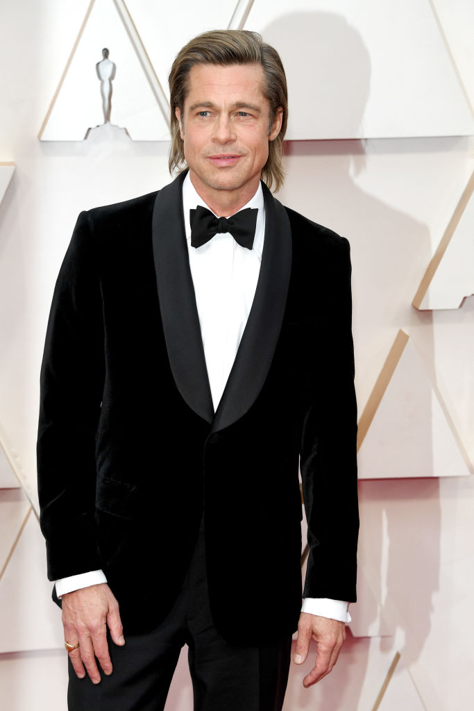 Brad Pitt attends the 92nd Annual Academy Awards at Hollywood and Highland on February 09, 2020 in Hollywood, California. (Photo by Kevin Mazur/Getty Images)
