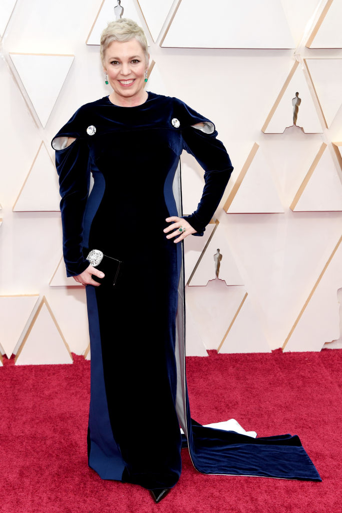 Olivia Colman attends the 92nd Annual Academy Awards at Hollywood and Highland on February 09, 2020 in Hollywood, California. (Photo by Kevin Mazur/Getty Images)