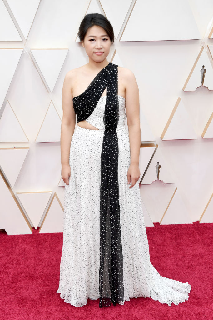 Siqi Song attends the 92nd Annual Academy Awards at Hollywood and Highland on February 09, 2020 in Hollywood, California. (Photo by Kevin Mazur/Getty Images)