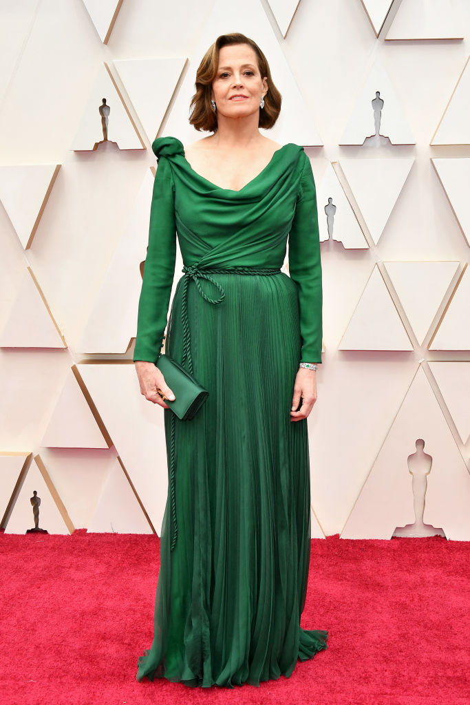 Sigourney Weaver attends the 92nd Annual Academy Awards at Hollywood and Highland on February 09, 2020 in Hollywood, California. (Photo by Amy Sussman/Getty Images)