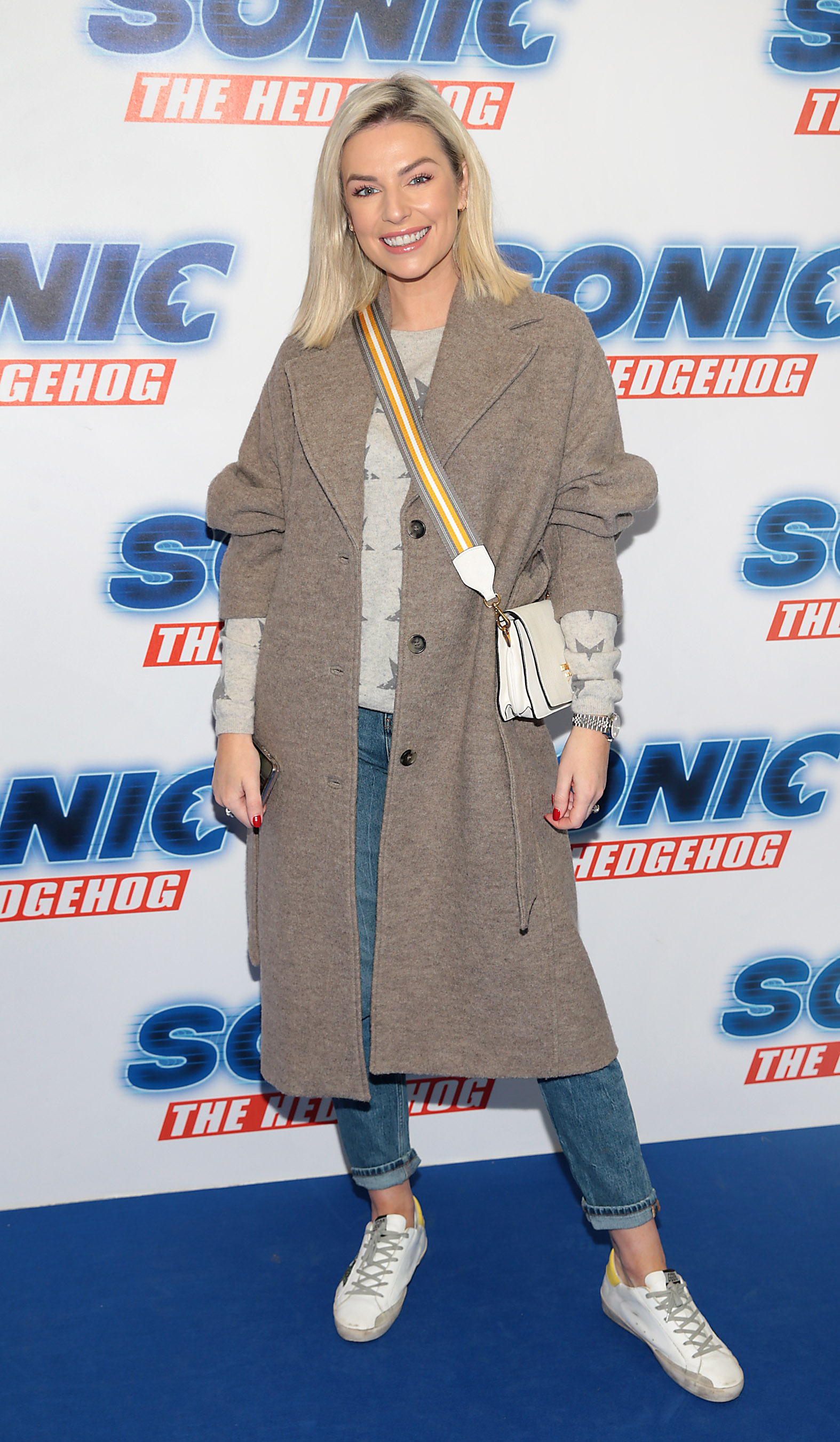Pippa O Connor at the special preview screening of Sonic the Hedgehog Movie at the Odeon Cinema in Point Square, Dublin. Pic: Brian McEvoy