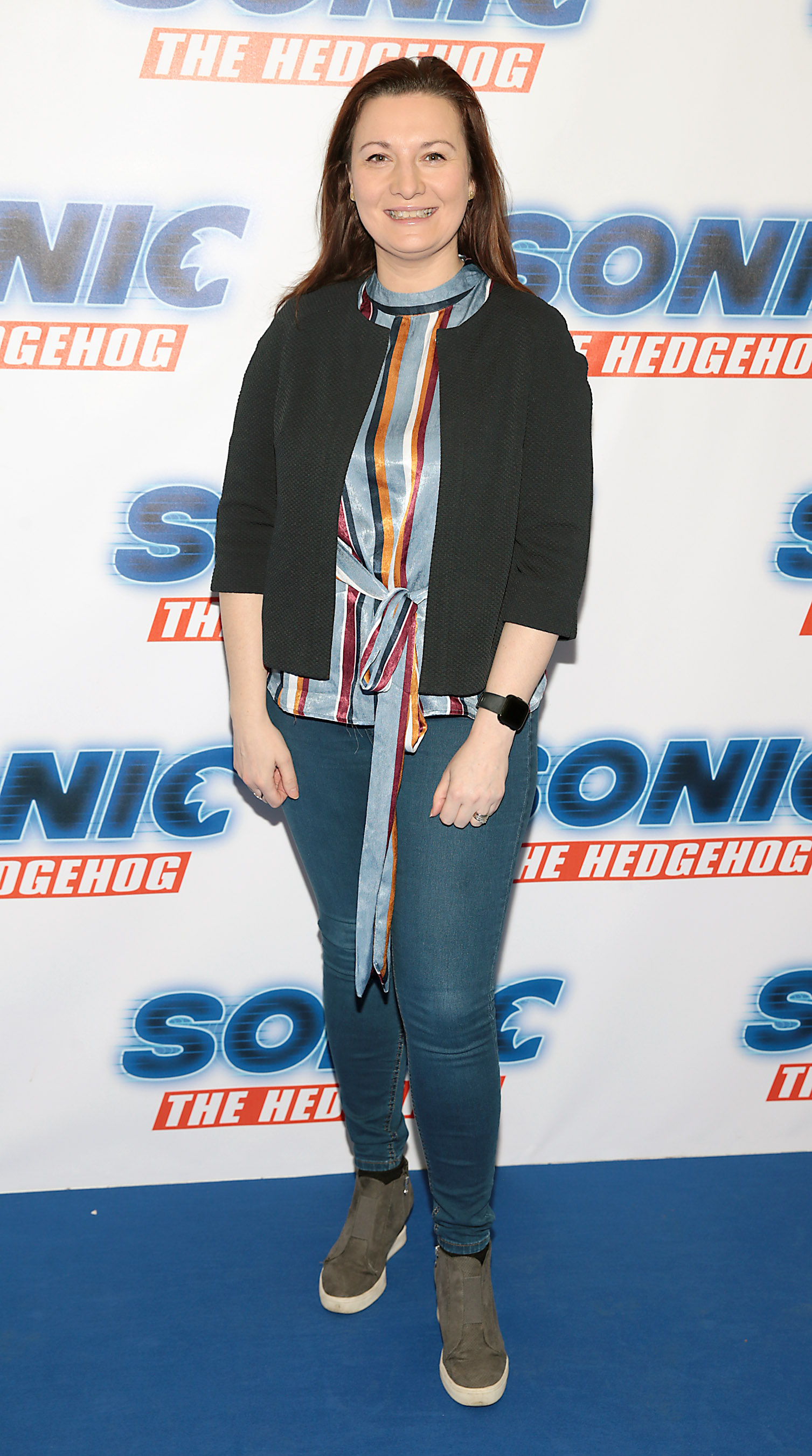 Michelle Cantwell at the special preview screening of Sonic the Hedgehog Movie at the Odeon Cinema in Point Square, Dublin. Pic: Brian McEvoy