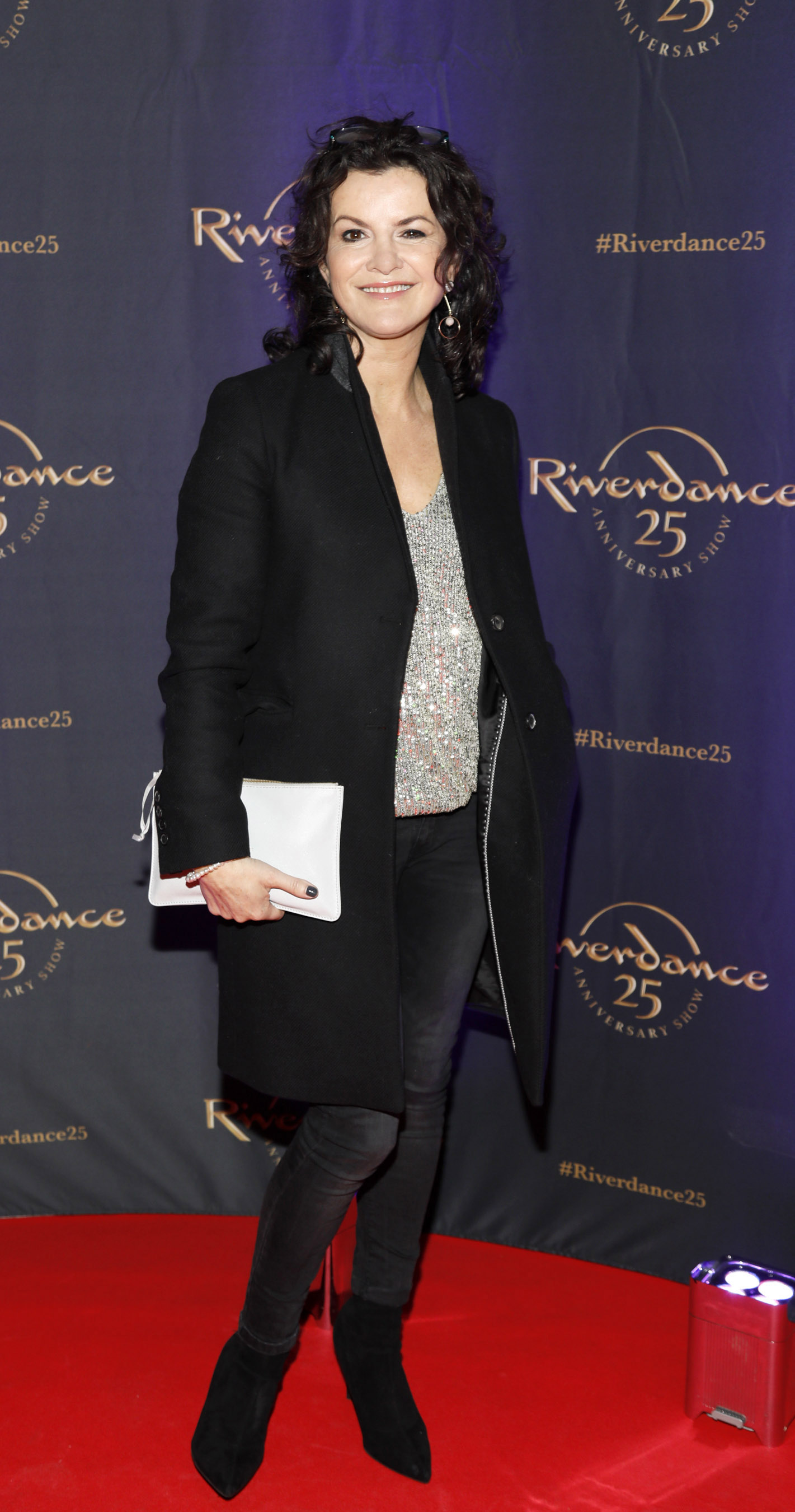 Deirdre O'Kane at the historic gala performance of Riverdance 25th Anniversary show at 3Arena Dublin exactly 25 years to the day that Riverdance was first performed at the Point Depot.  Photo: Kieran Harnett