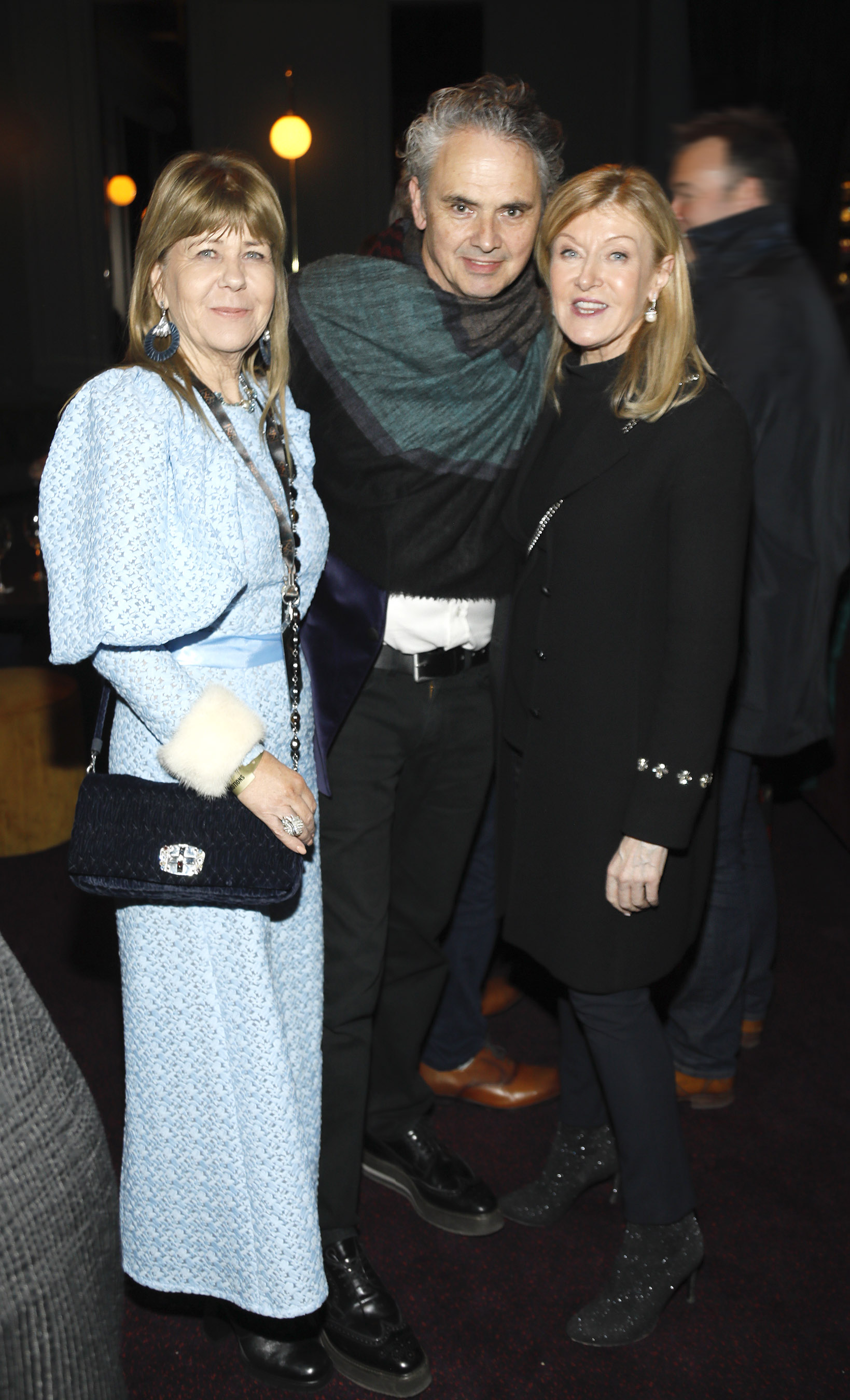 Gerardine Connolly, Patrick O'Reilly and Louise Kennedy at the historic gala performance of Riverdance 25th Anniversary show at 3Arena Dublin exactly 25 years to the day that Riverdance was first performed at the Point Depot.  Photo: Kieran Harnett