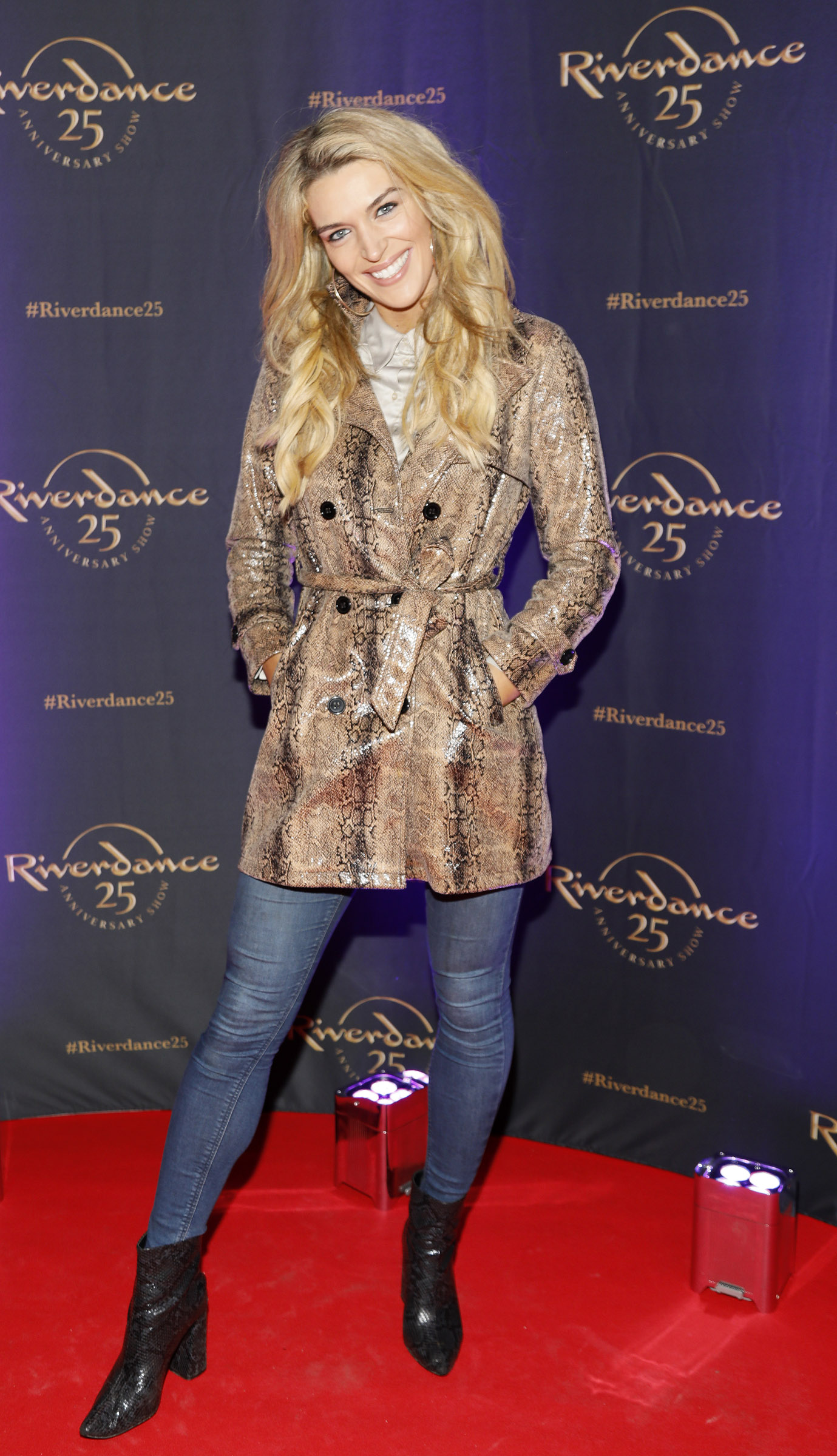 Grainne Gallanagh at the historic gala performance of Riverdance 25th Anniversary show at 3Arena Dublin exactly 25 years to the day that Riverdance was first performed at the Point Depot.  Photo: Kieran Harnett
