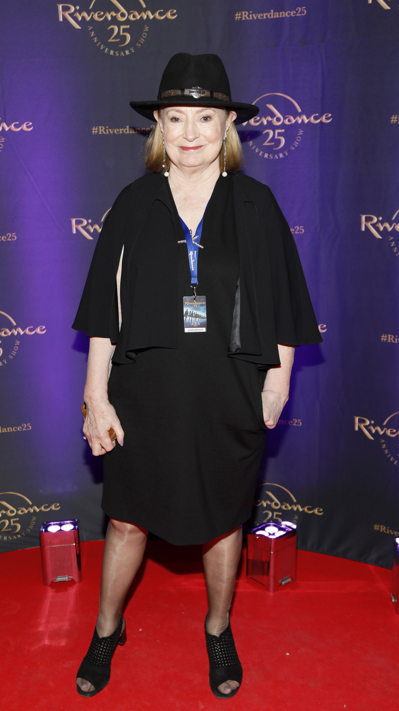 Joan Bergin at the historic gala performance of Riverdance 25th Anniversary show at 3Arena Dublin exactly 25 years to the day that Riverdance was first performed at the Point Depot.  Photo: Kieran Harnett