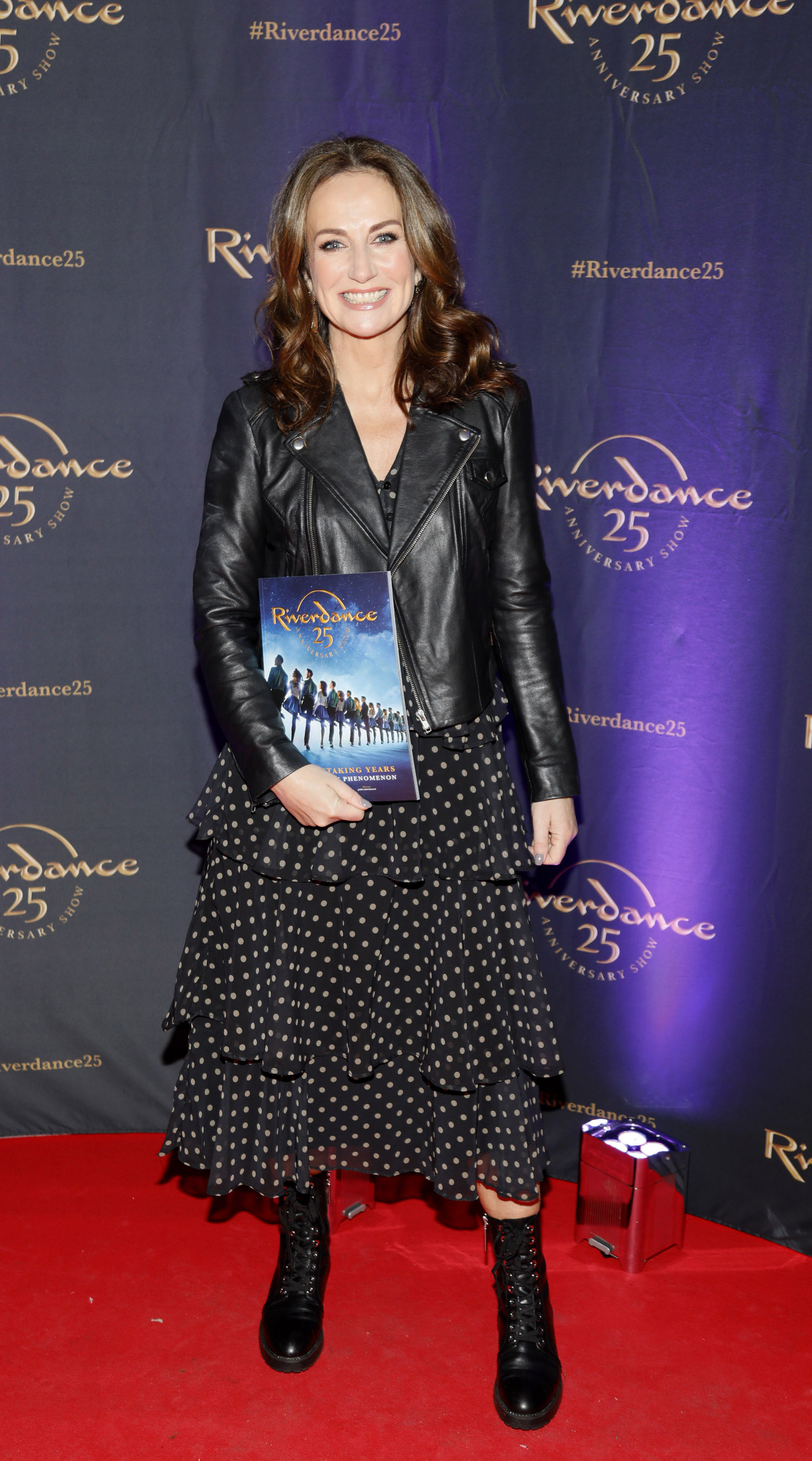 Lorraine Keane at the historic gala performance of Riverdance 25th Anniversary show at 3Arena Dublin exactly 25 years to the day that Riverdance was first performed at the Point Depot.  Photo: Kieran Harnett