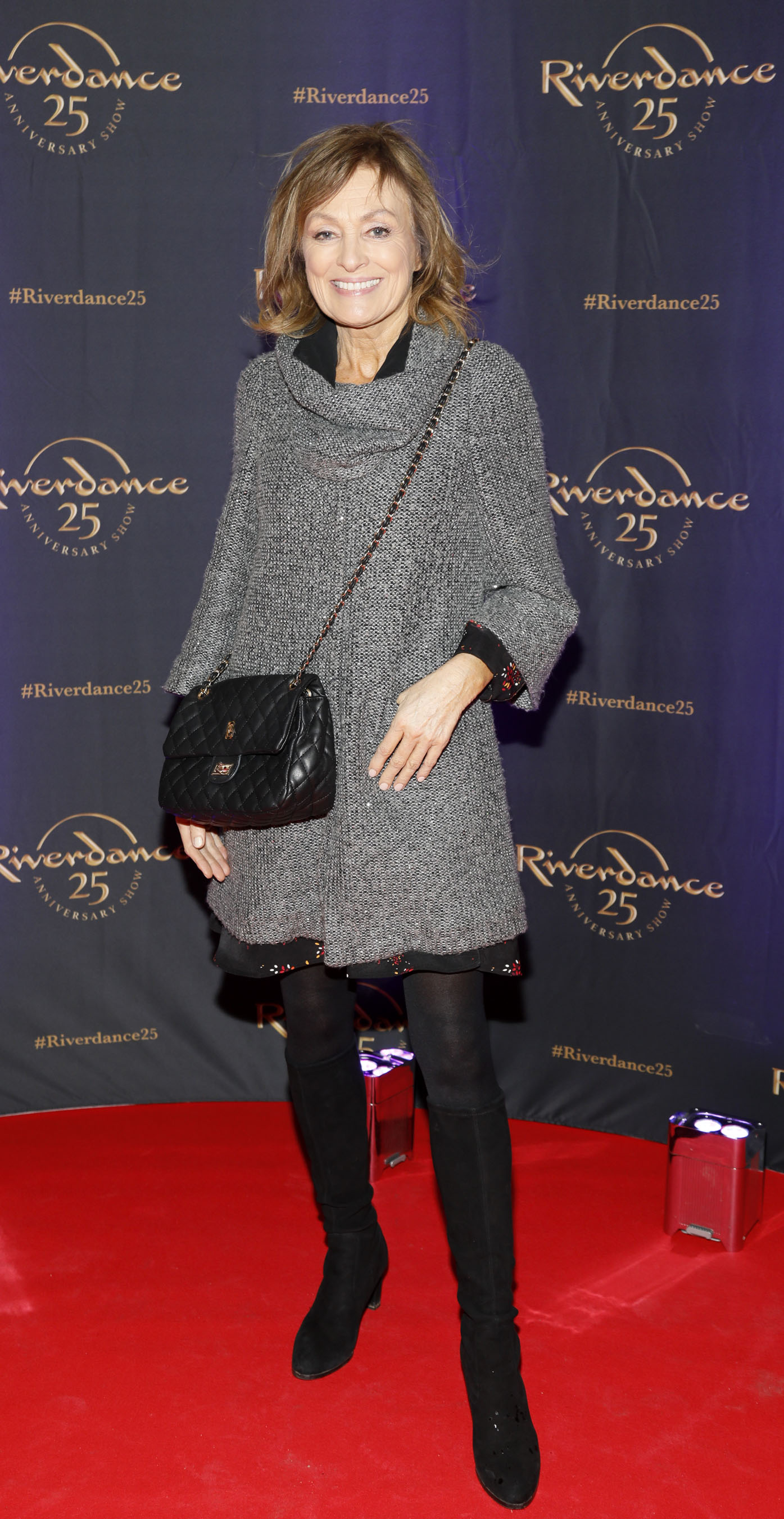 Mary Kennedy at the historic gala performance of Riverdance 25th Anniversary show at 3Arena Dublin exactly 25 years to the day that Riverdance was first performed at the Point Depot.  Photo: Kieran Harnett