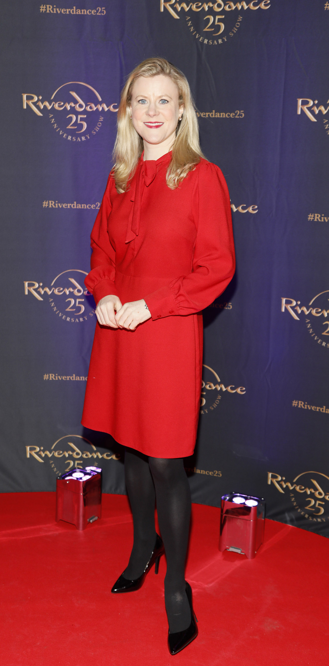 Nuala Carey at the historic gala performance of Riverdance 25th Anniversary show at 3Arena Dublin exactly 25 years to the day that Riverdance was first performed at the Point Depot.  Photo: Kieran Harnett