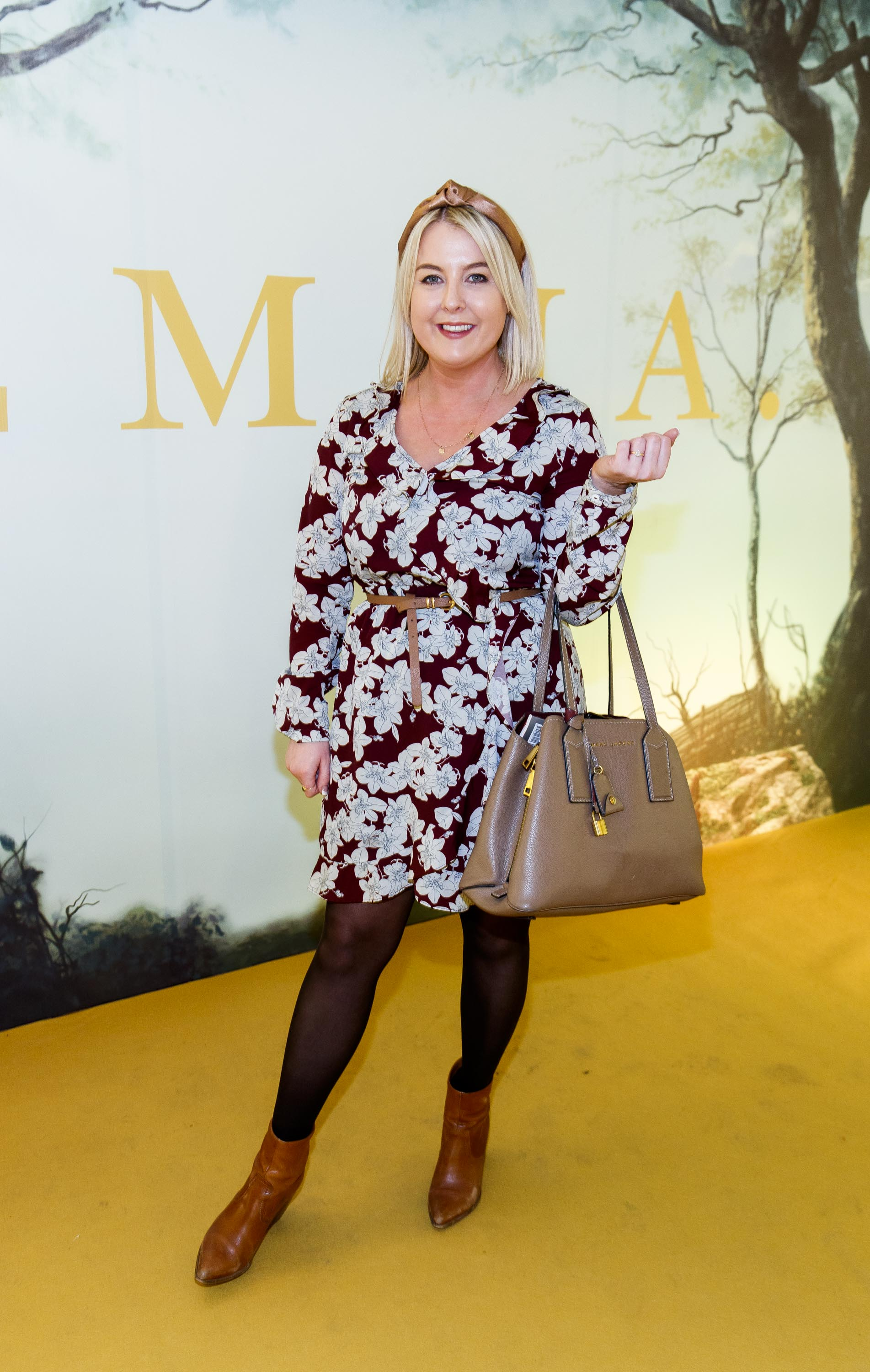 Rebecca Brady pictured at a special preview screening of EMMA, a delicious new adaptation of Jane Austen's beloved comedy, at Light House Cinema, Dublin Picture Andres Poveda
