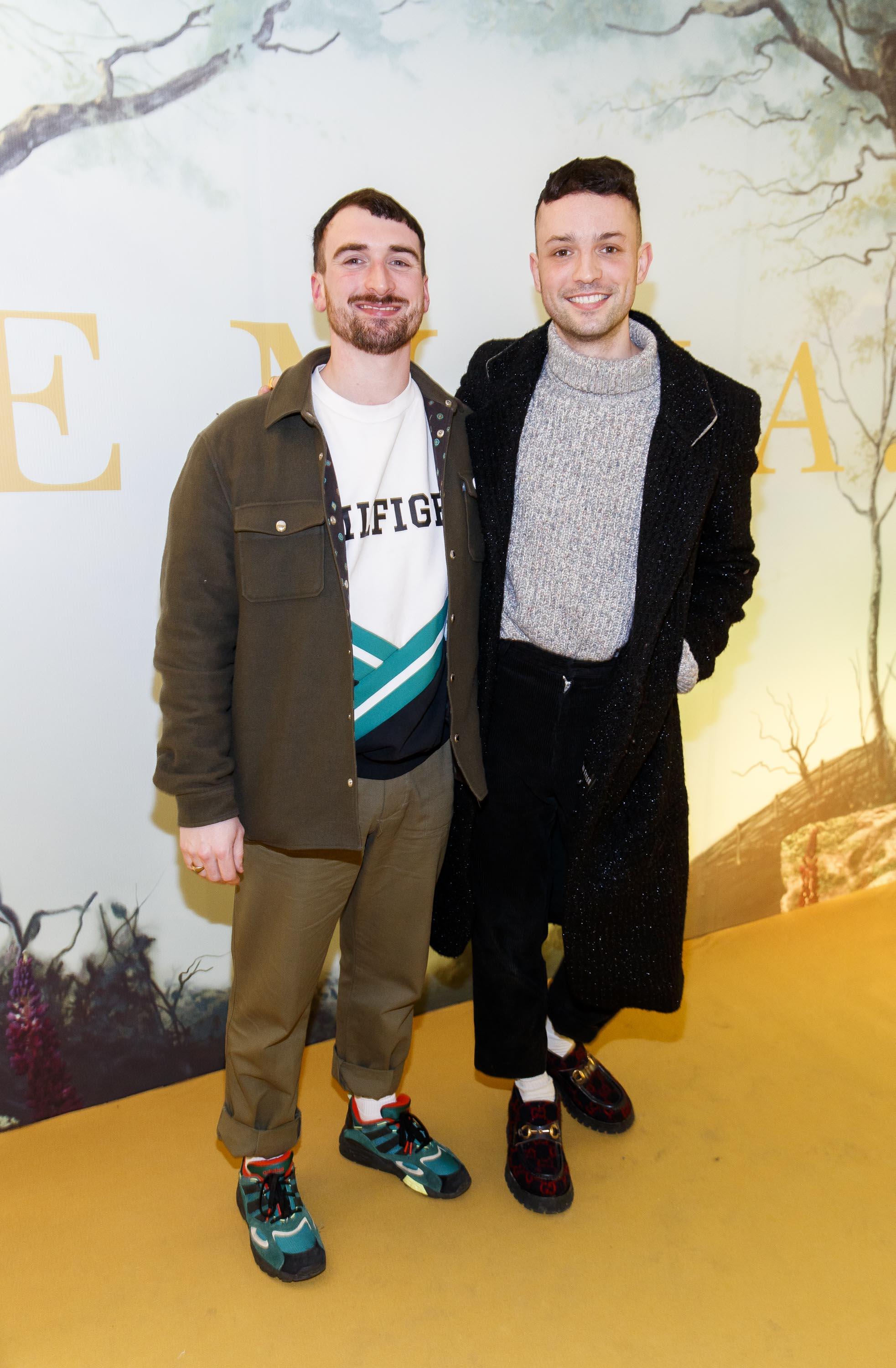 William Murray and James Kavanagh pictured at a special preview screening of EMMA, a delicious new adaptation of Jane Austen's beloved comedy, at Light House Cinema, Dublin Picture Andres Poveda