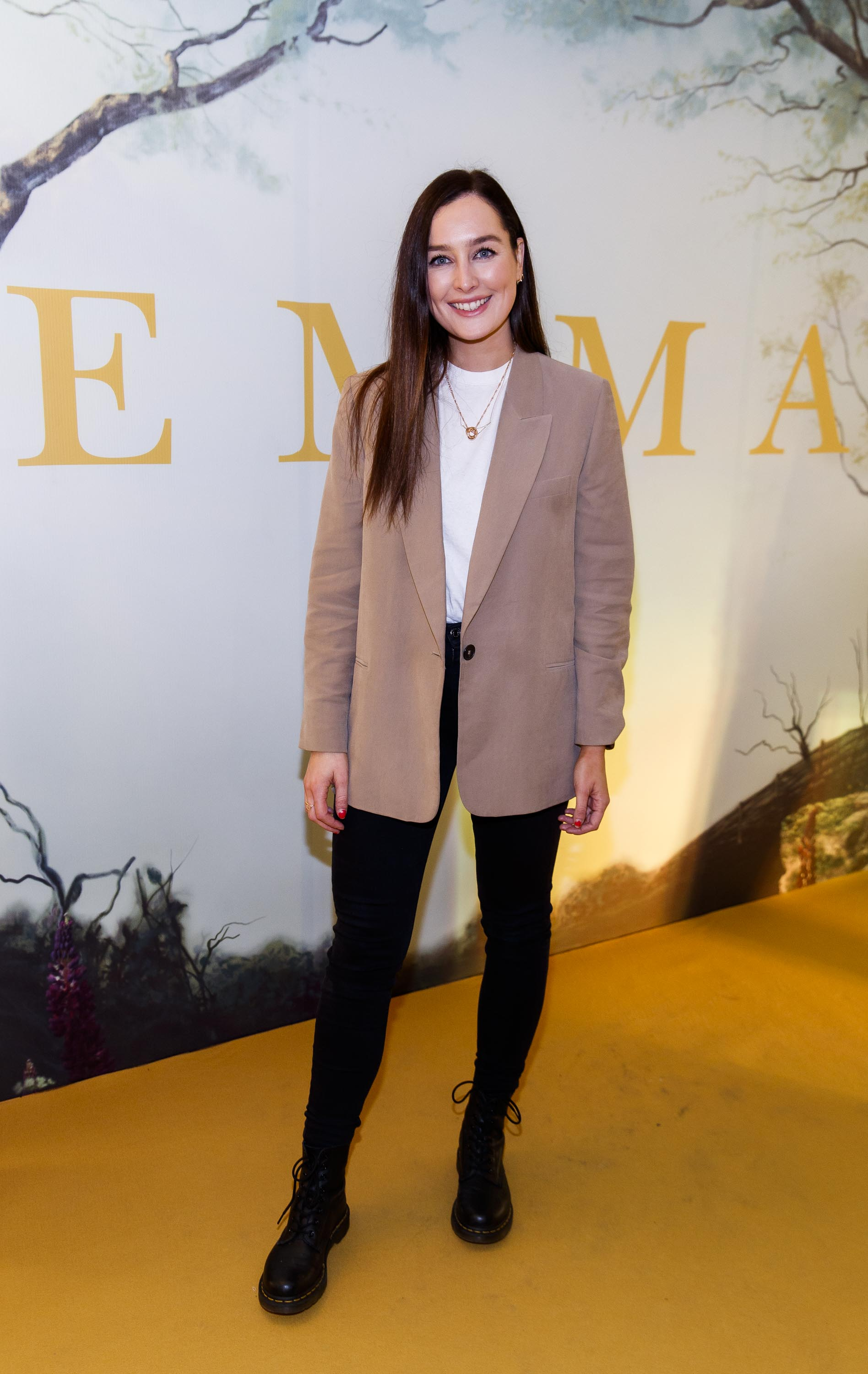 Rachel Purcell pictured at a special preview screening of EMMA, a delicious new adaptation of Jane Austen's beloved comedy, at Light House Cinema, Dublin Picture Andres Poveda