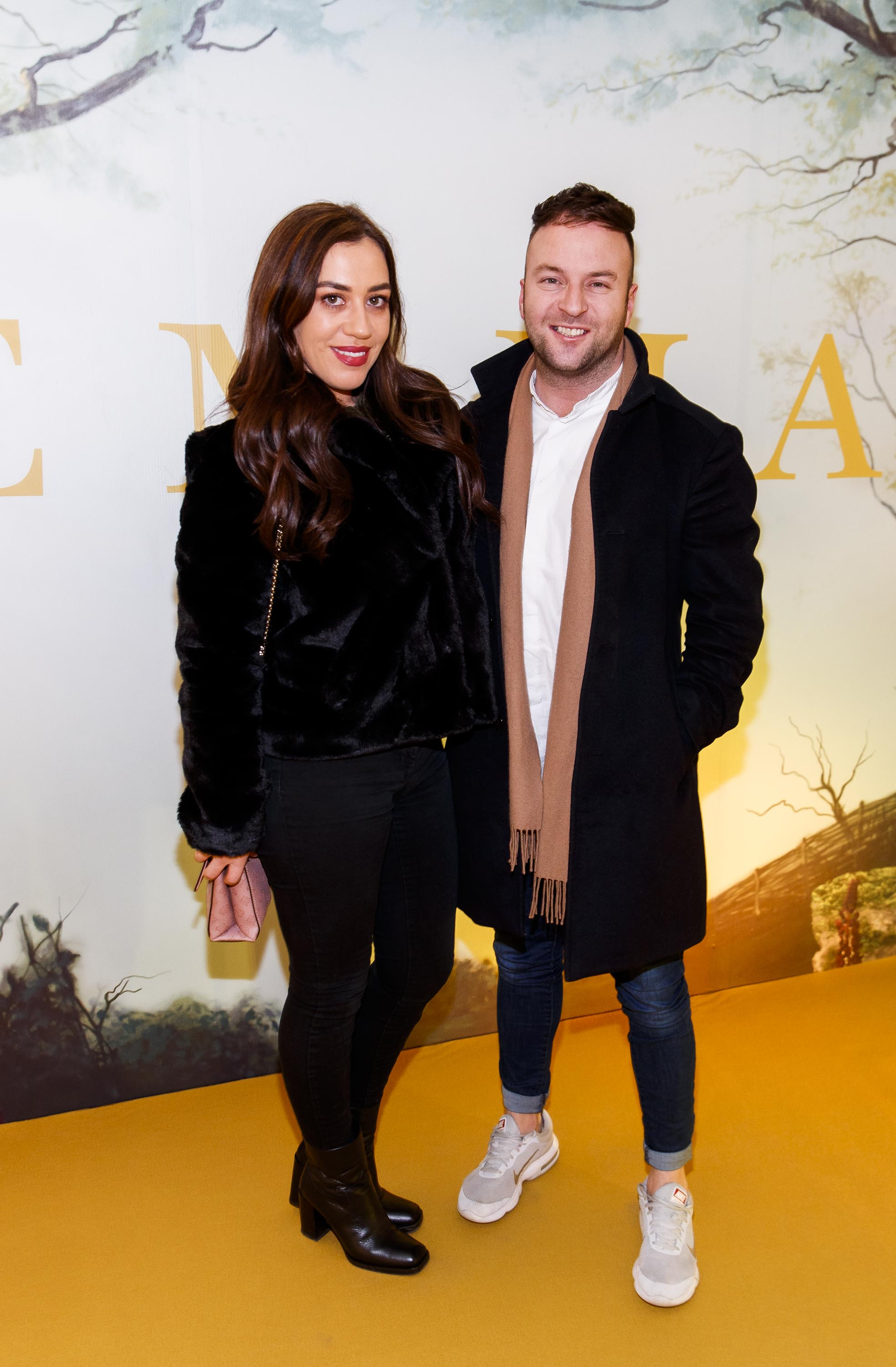 Niamh Gafney and Wayne Lawlor pictured at a special preview screening of EMMA, a delicious new adaptation of Jane Austen's beloved comedy, at Light House Cinema, Dublin Picture Andres Poveda