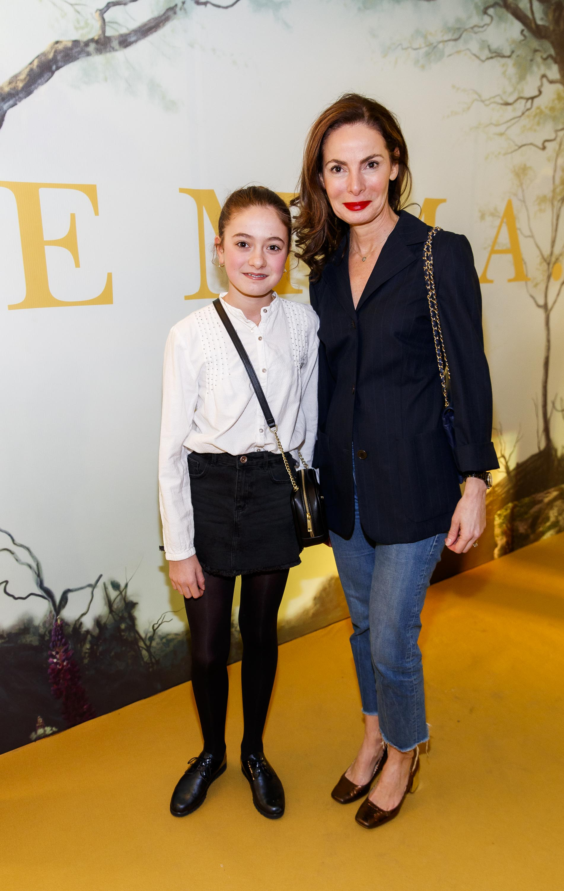 Melia Sleiman-Purdy (12) and Caroline Sleiman pictured at a special preview screening of EMMA, a delicious new adaptation of Jane Austen's beloved comedy, at Light House Cinema, Dublin Picture Andres Poveda