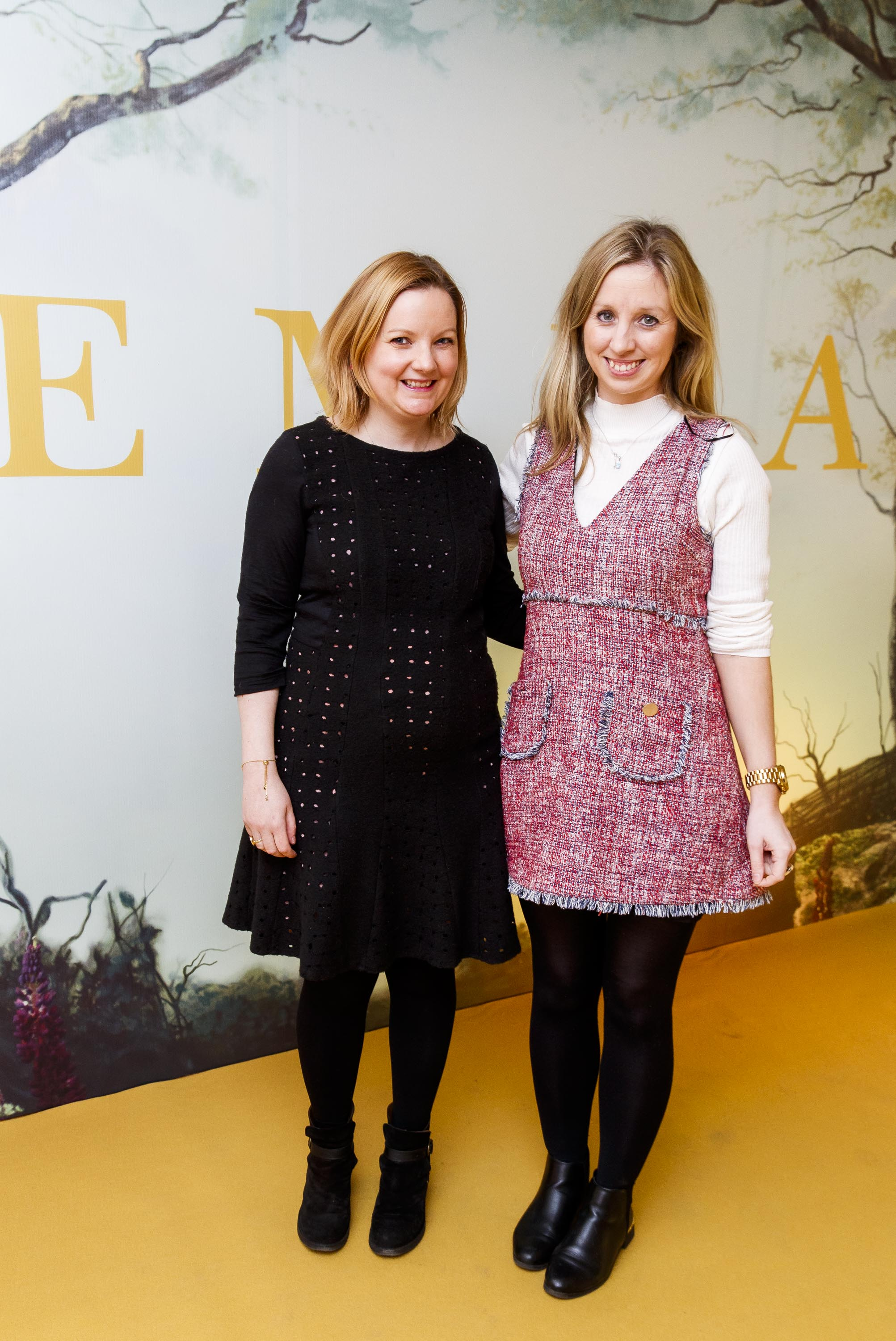 Roisin Coulter and Claire Hyland pictured at a special preview screening of EMMA, a delicious new adaptation of Jane Austen's beloved comedy, at Light House Cinema, Dublin Picture Andres Poveda