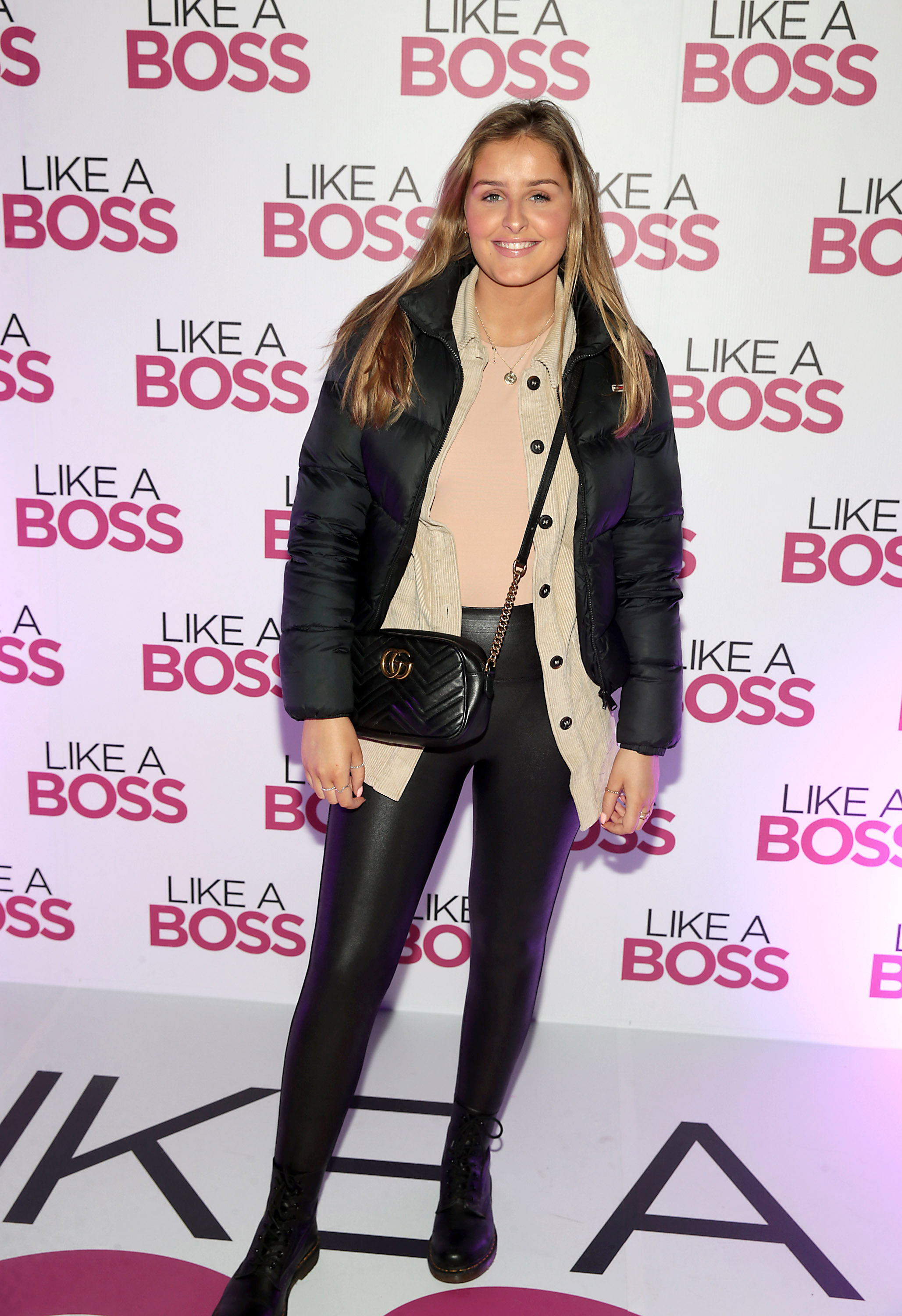 Katie Jackson at the special preview screening of Like A Boss at the Lighthouse Cinema, Dublin. Pic: Brian McEvoy